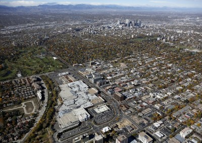 Cherry Creek Shopping Area Aerial Photography