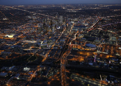 Downtown Denver After Sunset
