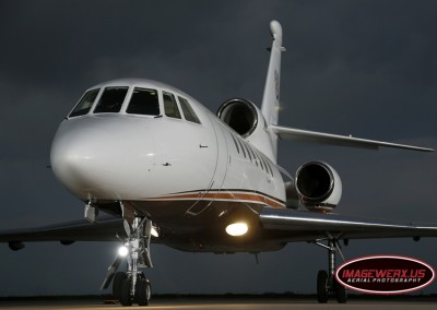 Falcon 50 Static Photo Shoot
