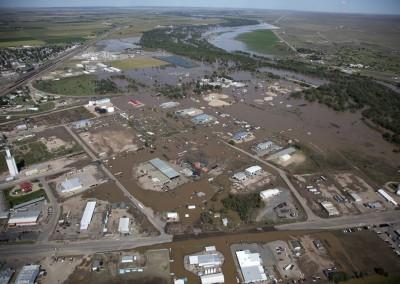 South Platte River Flooding -  Sterling, CO