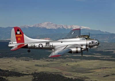 B-17 Air to Air - Denver Aviation Photography