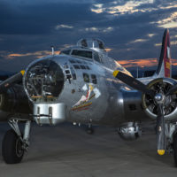 B-17 Aluminum Overcast Static