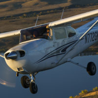 Cessna 172 Air to Air sm