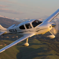 Cirrus SR22 GTS Air to Air