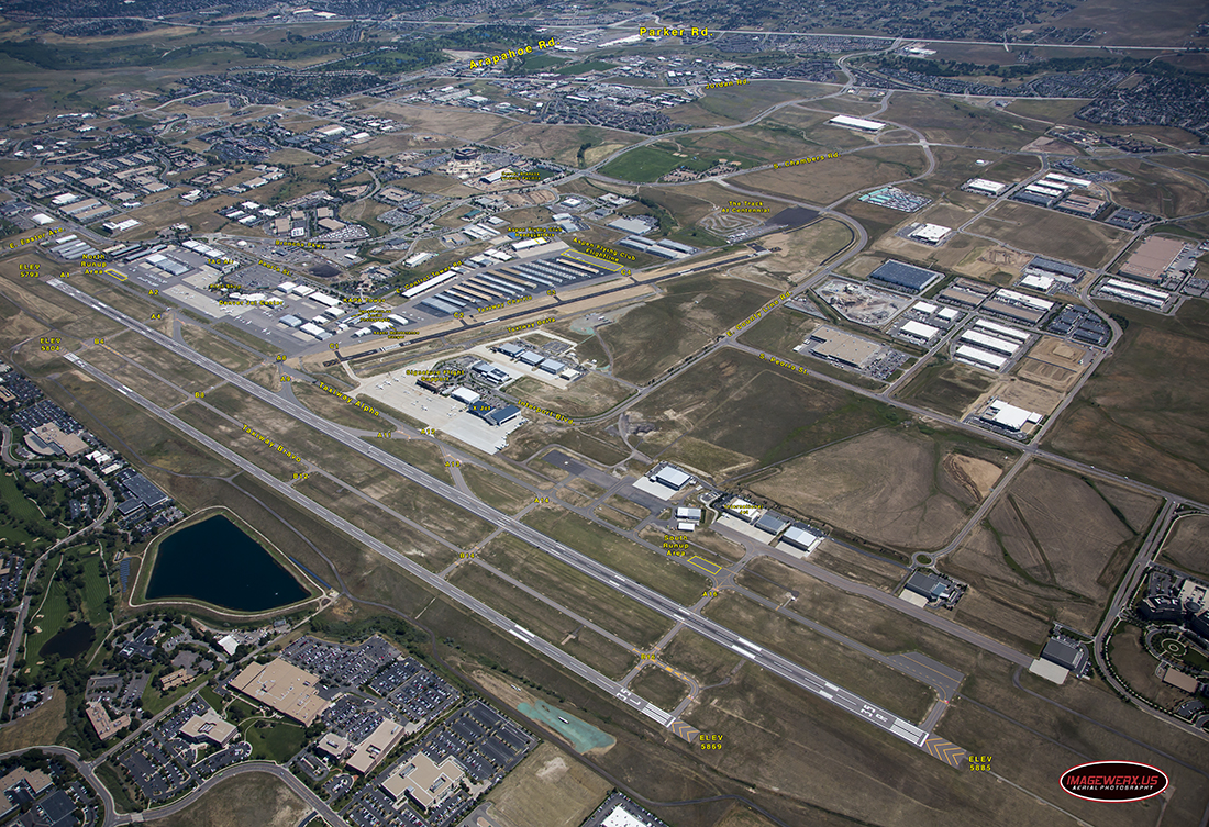 Centennial Airport Diagram
