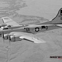B-17 Liberty Belle Air to Air 2