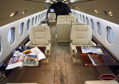 Falcon 900 Interior