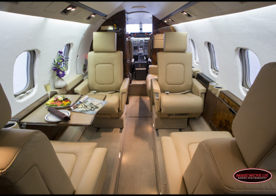Learjet Interior