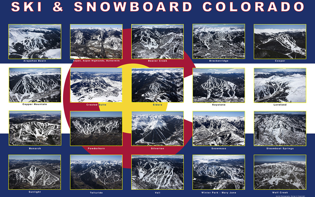 Ski Area Collage