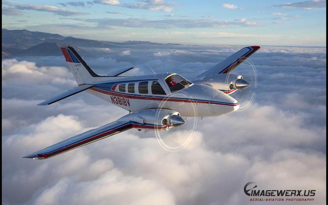 Air to Air – Beech Baron