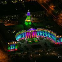 Denver City & County Building Holiday Lights 232
