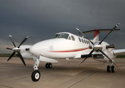 King Air Static Aircraft Photography