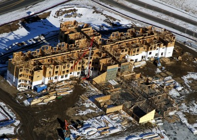 Construction-Progress Aerial Photography