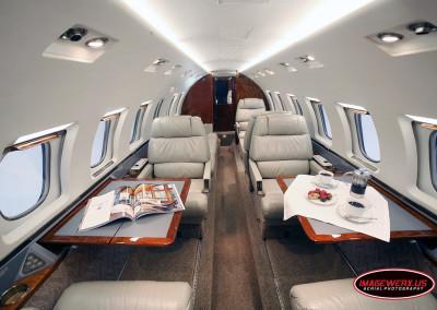 Hawker 1000 Interior