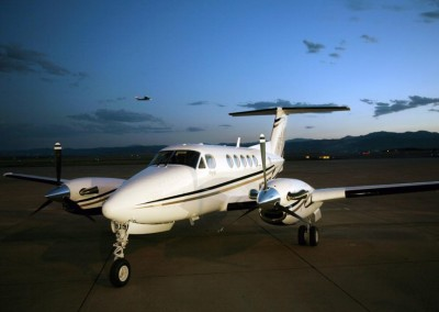 King Air Static - Aviation Photography