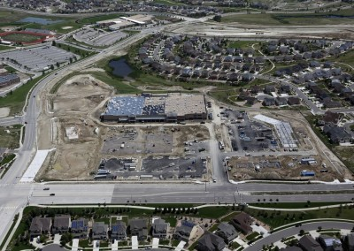 New Retail Construction Aerial Photography