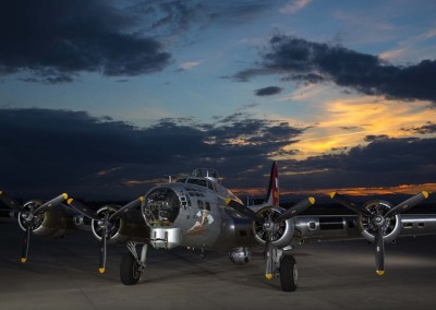 B-17 Static Photo Shoot