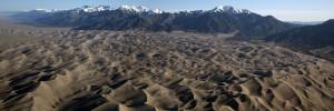 Great Sand Dunes National Park Panorama