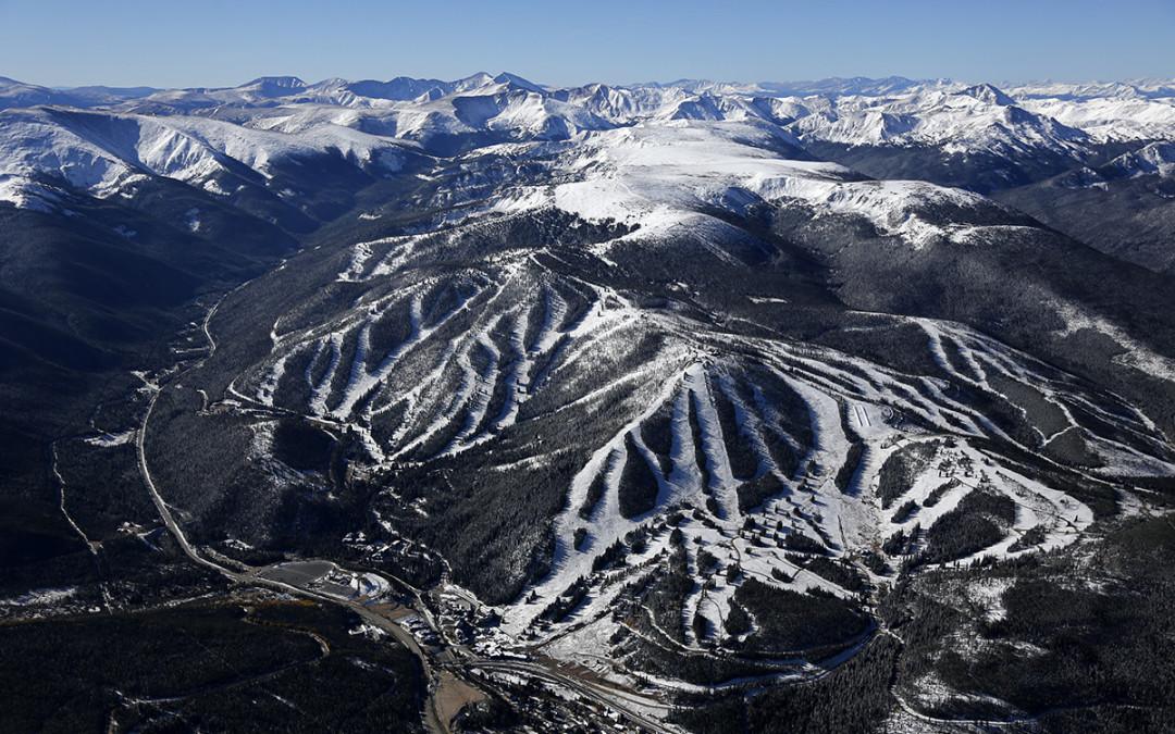 Winter Park Ski Area Aerial