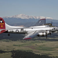 B-17 Aluminum Overcast Air to Air