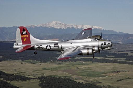 B-17 Aluminum Overcast Air to Air