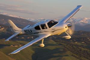 Cirrus SR22 GTS Air to Air