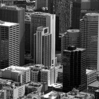Aerial Downtown Denver