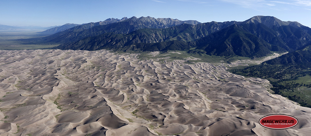Great Sand Dunes National Park Aerial