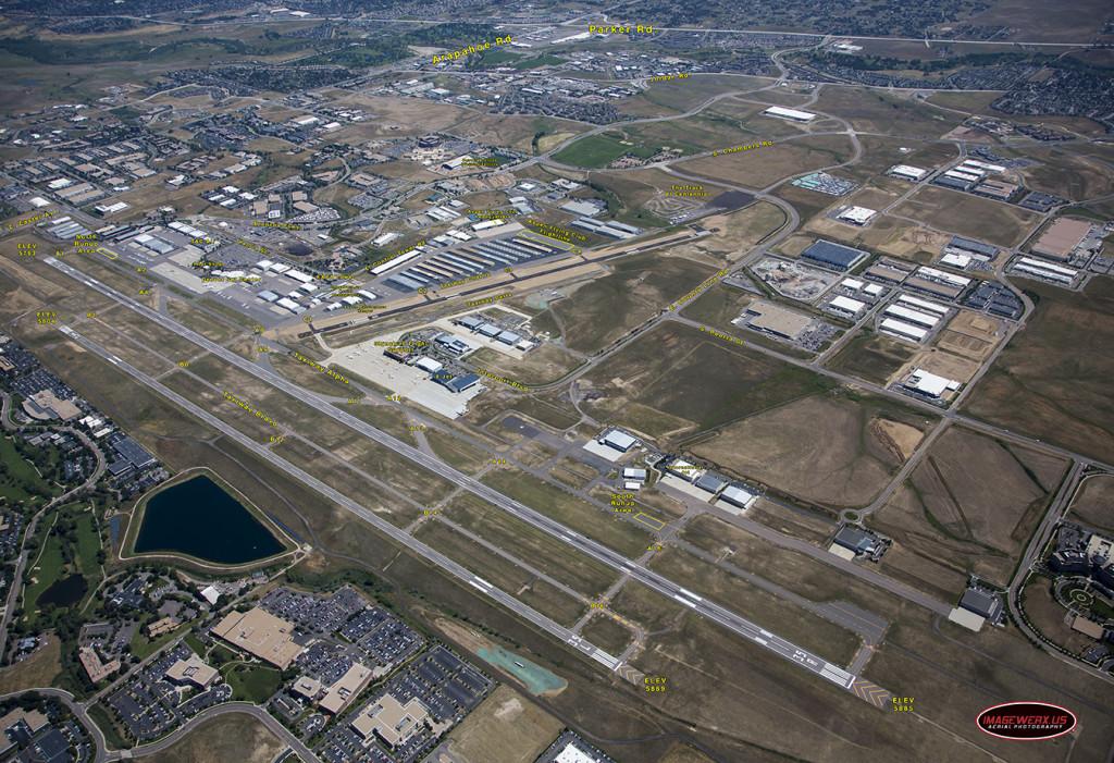 Centennial Airport Aerial