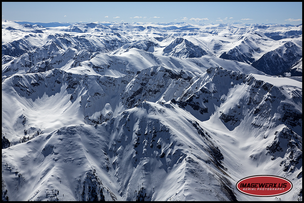 San Juan Mountains Aerial