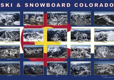 Ski & Snowboard Colorado Collage