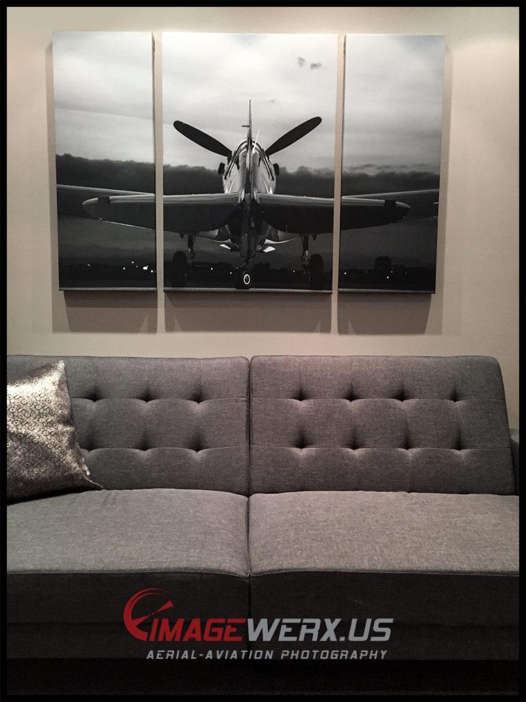P-40 Triptych