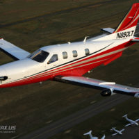 TBM 850 Air to Air