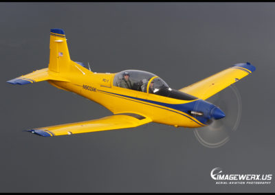 Pilatus PC-7 Air to Air