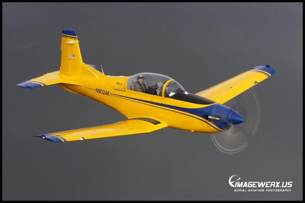 Pilatus PC-7 Air to Air