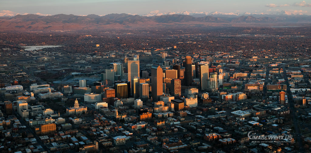 Denver Sunrise Panorama 3