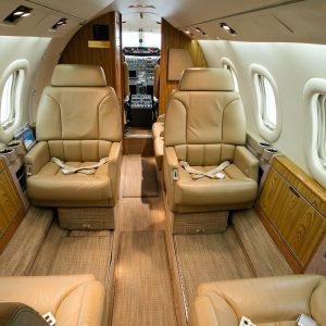Lear Jet 55C Interior