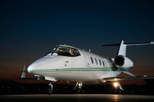 Lear Jet 55C Exterior