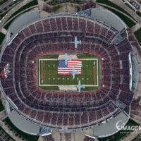 2018 Denver Broncos vs KC Chiefs Flyover Horizontal