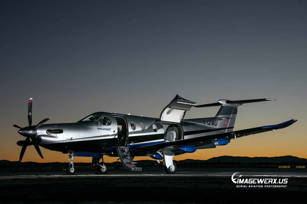 Pilatus PC-12 N124U