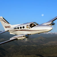 Cessna 414 162 Air to Air