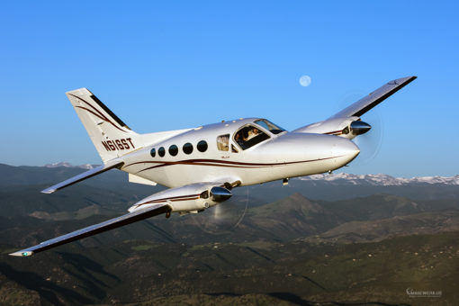 Cessna 414 162 Air to Air