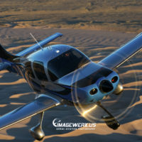 Cirrus SR-22 GTS 153 Air to Air
