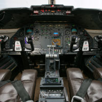 Lear Jet 35 Cockpit