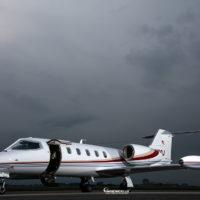 Lear Jet 35 Exterior