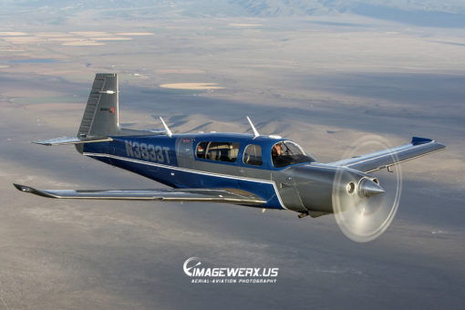 Mooney Acclaim Type S Air to Air