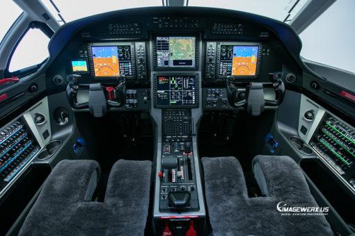 Pilatus PC12-NG N124U Cockpit