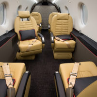 Pilatus PC-12NG N1677 Interior Aft