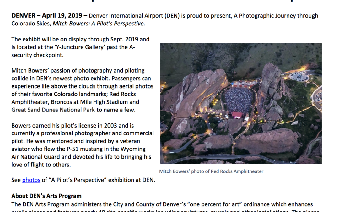 Press Release - Official DEN | ImageWerx Denver Colorado