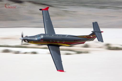 Pilatus Flyby